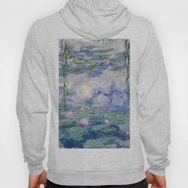 "Claude Monet ""Water Lilies(Nymphéas)"" (9) 1916–19.jpg Hoody"
