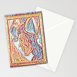 Jester Profile Stationery Cards