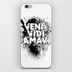 Veni Vidi Amavi iPhone & iPod Skin