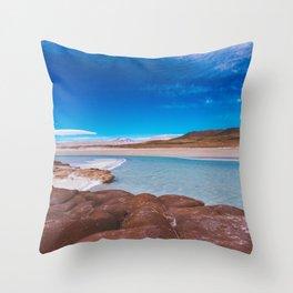 Piedras Rojas (Red Rocks), San Pedro de Atacama Desert, Chile 3 Throw Pillow