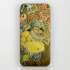 Viva el piratão iPhone & iPod Skin