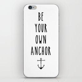 Teen Wolf / Anchor iPhone Skin