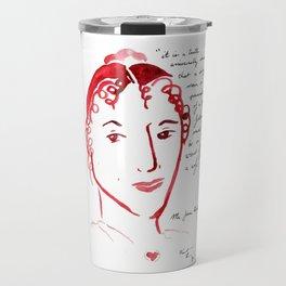 Pride and Prejudice: Jane Austen Travel Mug