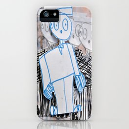 PEOPLE iN SUiTS iPhone Case