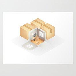 Home box /Marek/ Art Print