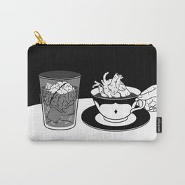 Cold Head, Warm Heart Carry-All Pouch