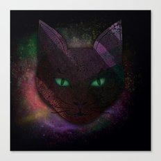 Watching Cat Canvas Print