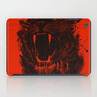 king iPad Cases featuring The King by nicebleed