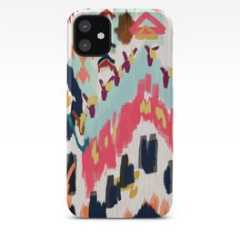 Bohemian Tribal Painting iPhone Case