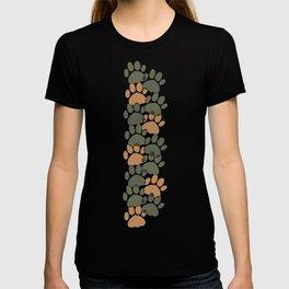 Cute Camo Paw Pattern T-shirt