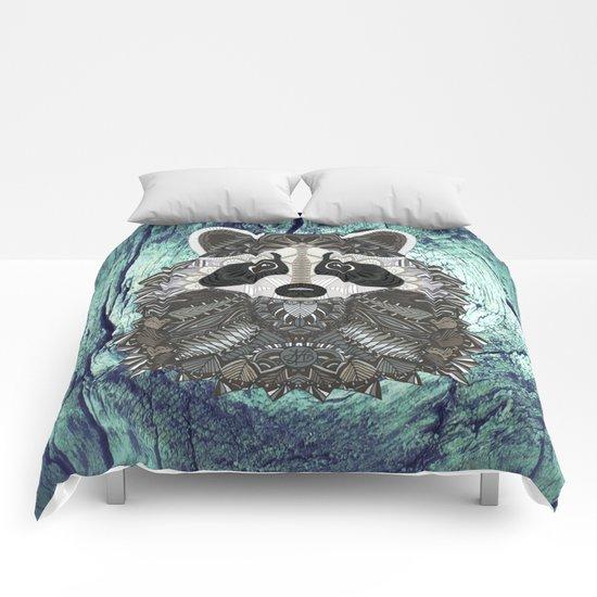Ornate Raccoon Comforters
