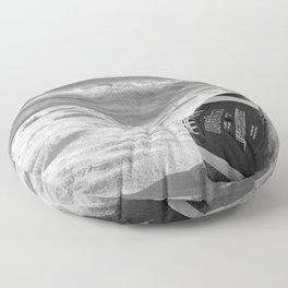 Football Season - Wilson's tropical vacay - Floor Pillow