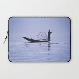 FISHERMAN AT INLE LAKE II Laptop Sleeve