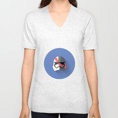 Captain Phasma Flat Design Unisex V-Neck