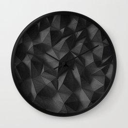 black rocks landscape Wall Clock