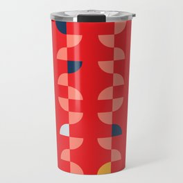 Geometric Pattern #2 Travel Mug