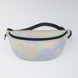 Rainbow Oil Slick Fanny Pack