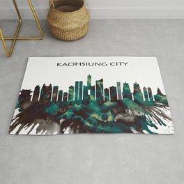 Kaohsiung City Skyline Rug