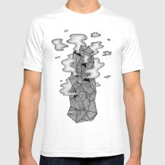 Socotra Mens Fitted Tee MEDIUM White