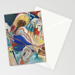 Improvisation No. 30 Cannons, Kandinsky Stationery Cards