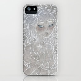 Young Medusa iPhone Case