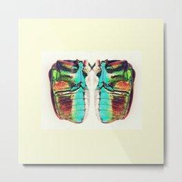Beetle in color Metal Print