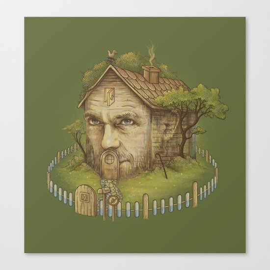 Dr. House Canvas Print