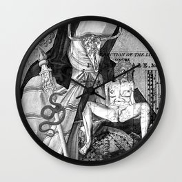 The constellation erotique 2479 Wall Clock