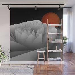 experiments on fractals -3- Wall Mural