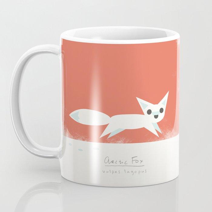 Arctic Fox Coffee Mug