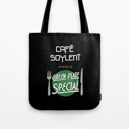 Soylent Cafe's Green Plate Special Tote Bag
