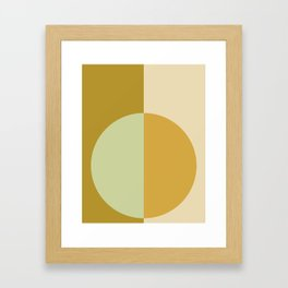 Color Block Abstract XIV Framed Art Print