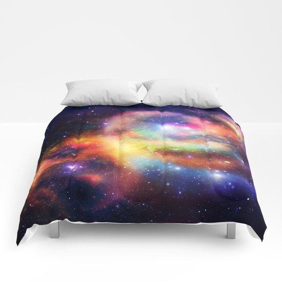 nebula vortex Comforters
