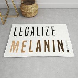 LEGALIZE MELANIN Rug