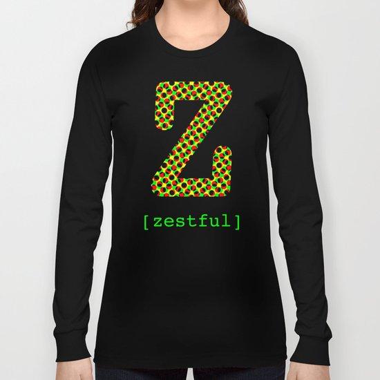 #Z [zestful] Long Sleeve T-shirt