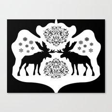 Rorschach Inkblot Canvas Print