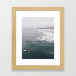 Beclouded Framed Art Print