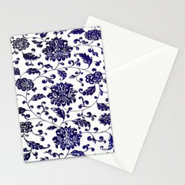 Chinese Floral Pattern Stationery Cards