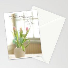 Three Tulips Stationery Cards
