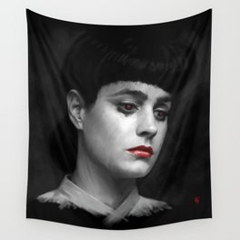 Rachel Blade Runner, I am the business Wall Tapestry