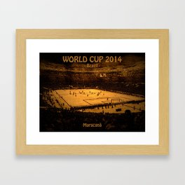World Cup 2014: Maracanã Framed Art Print