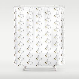 Some'bunny' Loves you...LOTS! Shower Curtain