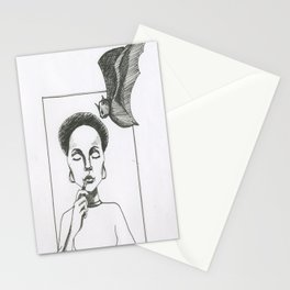 Here Comes The Bat Stationery Cards
