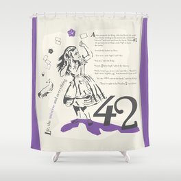 Forty Two Shower Curtain