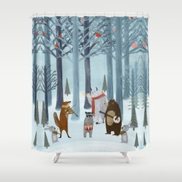 nature symphony Shower Curtain