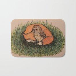 Fox & Owl Bath Mat