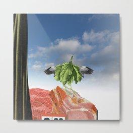 fresh fruits for rotting vegetables 18 Metal Print