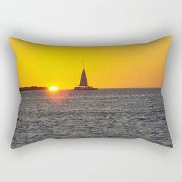 Beautiful sunset on key west Rectangular Pillow