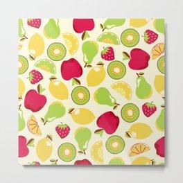 Amazing Fruit Art Metal Print