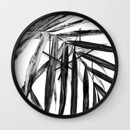 MONOCHROME BOTANICALS Wall Clock